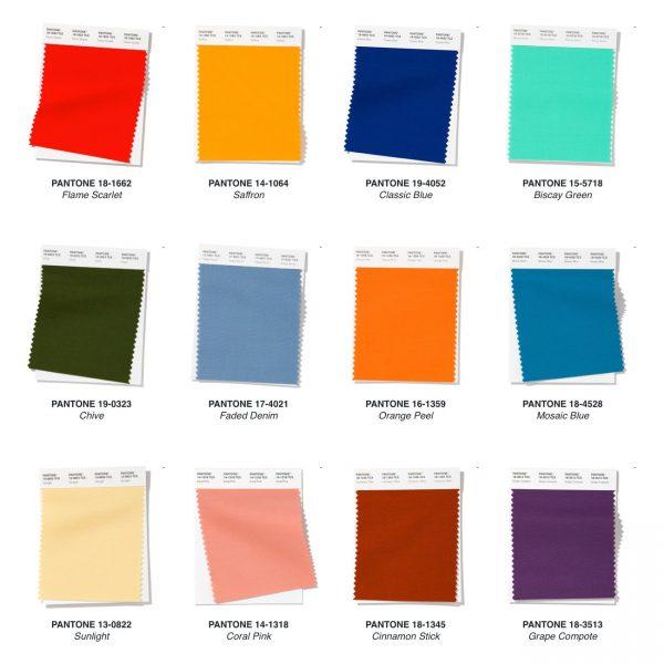 Pantone Fashion Colour Trends